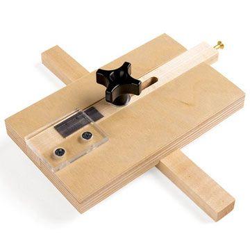 Simple, handy thin-strip ripping jig