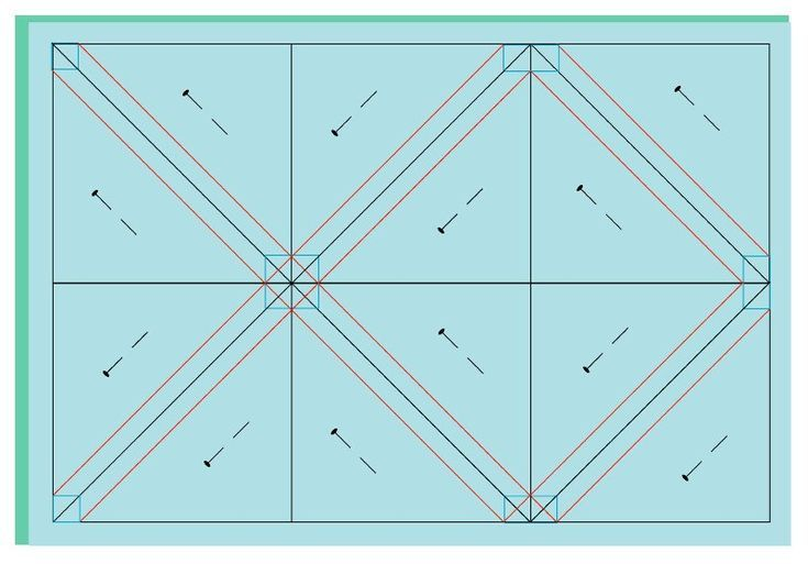Half Square Triangles Template Sewing Half Square Triangles Half Square Triangle Quilts Triangle Template