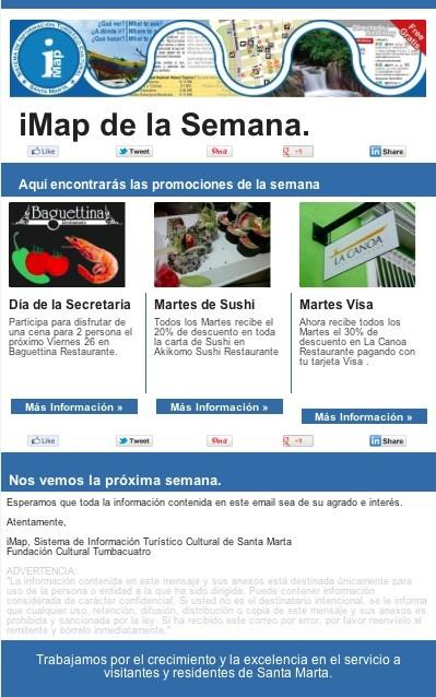Promociones iMap de la semana en Santa Marta ... http://gr8.com/r/cAdg?p