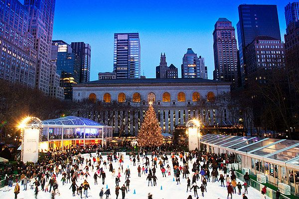 Ice Skating & Winter Village at Bryant Park - New York