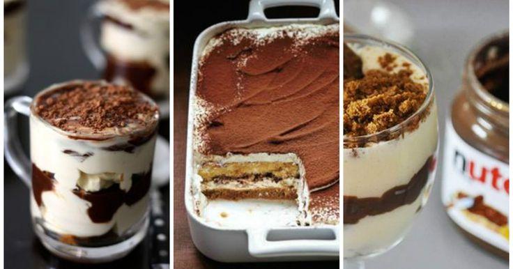 Il tiramisù alla Nutella? Certo che sì!! Ecco una ricetta che farà impazzire davvero tutti. Scommettiamo?