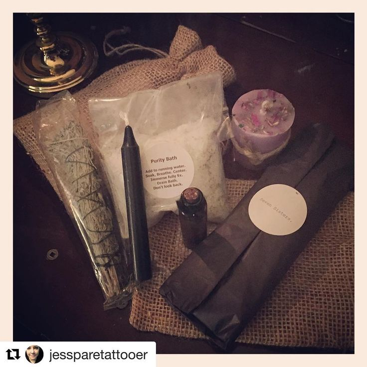 Customer photos warm my soul! 💜🙏🏻💜#Repost @jessparetattooer with @repostapp ・・・ This just made my day!! Thank you @myluckystar123 for all of the lovely @svensisters treats! You are some kind of wonderful ✨🔮🤗 #iknowwhatimdoingtonight #blessedbe #craft #witchery #lovelove #magick #sevensisters #sevensistersritual