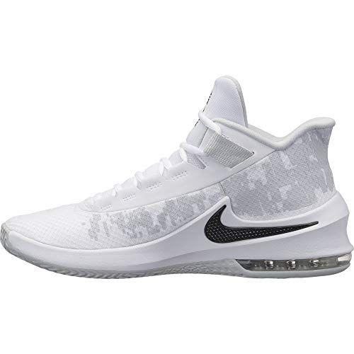18e0c160541 NIKE Men s Air Max Infuriate 2 Mid Basketball Shoe White ... https