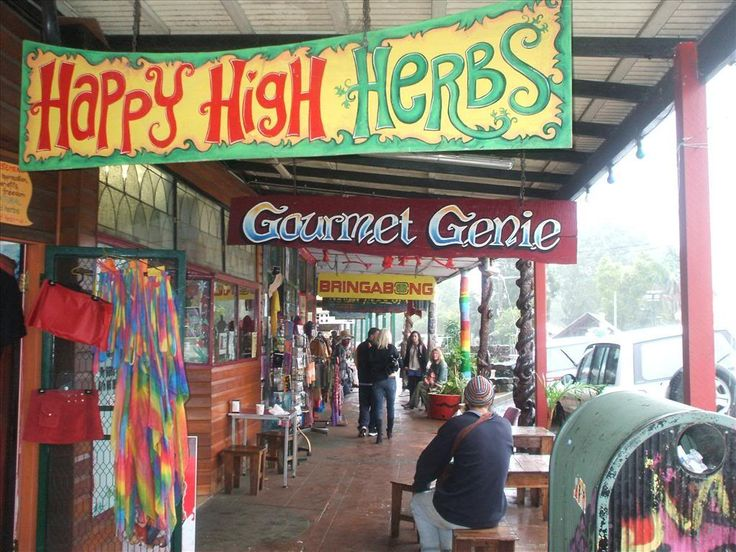 Nimbin Australia - for the hidden hippy inside us.