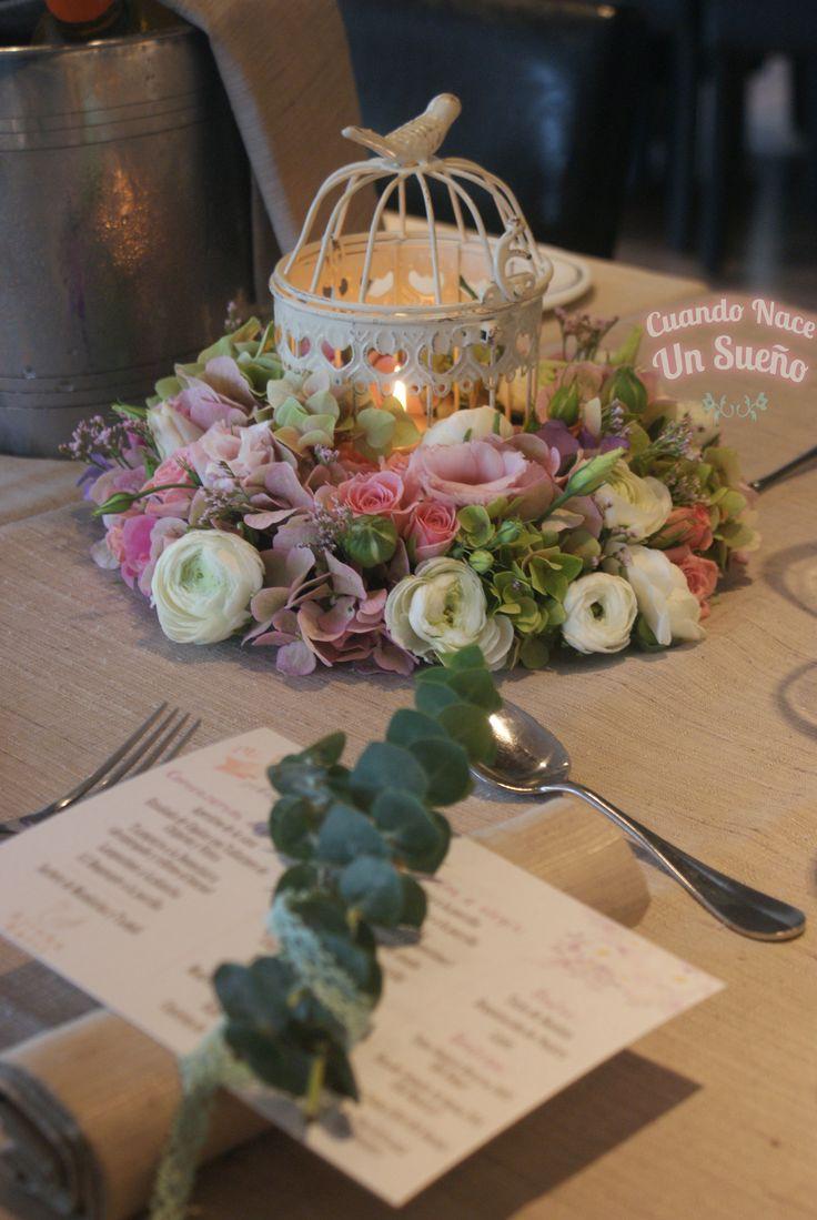 10 best ideas about centro de mesa bautizo on pinterest centros de mesa de flores de papel - Centro de mesas flores ...