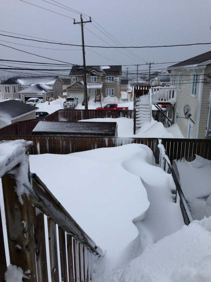 Winter in Newfoundland...Yup this is accurate!!