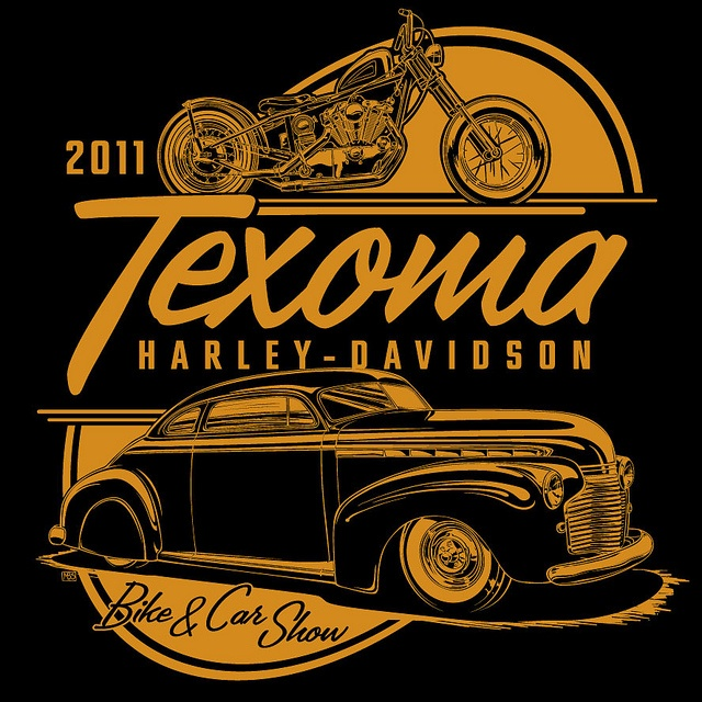 Texoma HD 2011 shirt design by Mike Shoaf