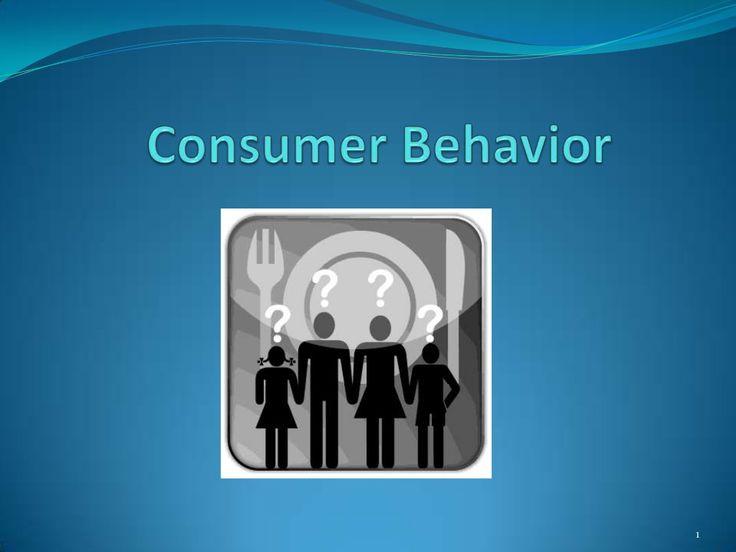 Consumer Behaviour by Pratiksha Patil via slideshare