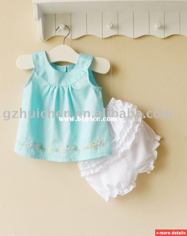 Toddler Girl Clothes Patterns Summer Baby Clothing