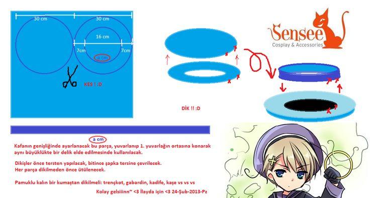 Sailor Hat Sewing Tip