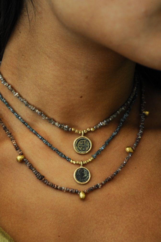 WHITE bIRD   Karen Liberman necklaces. Available at WHITE bIRD Jewellery. ,  Aleksandra Savatić