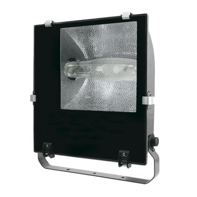 ADAMO MTH-250/S HQI Strahler Außenstrahler Fassadenstrahler 250 Watt symmetrísch - licht-idee.de