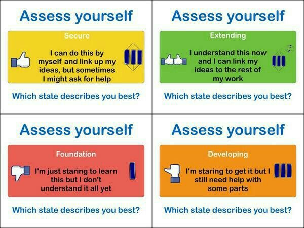 Self assessment #solotaxonomy