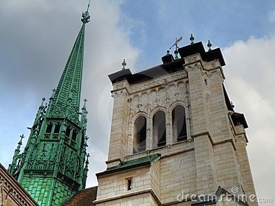 St. Pierre Cathedral Towers, Geneva