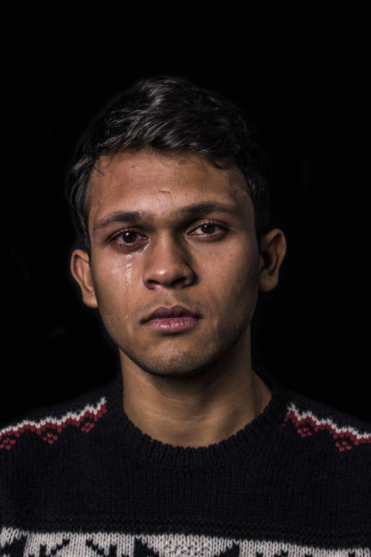 Aditya, 19   18 Photos Of Men Crying That Challenge Gender Norms