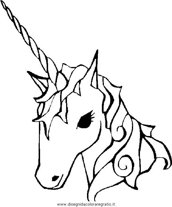 Fantasia Unicorni Unicorno 05 Jpg Disegno Unicorno Disegni Da Colorare Immagini Di Unicorno