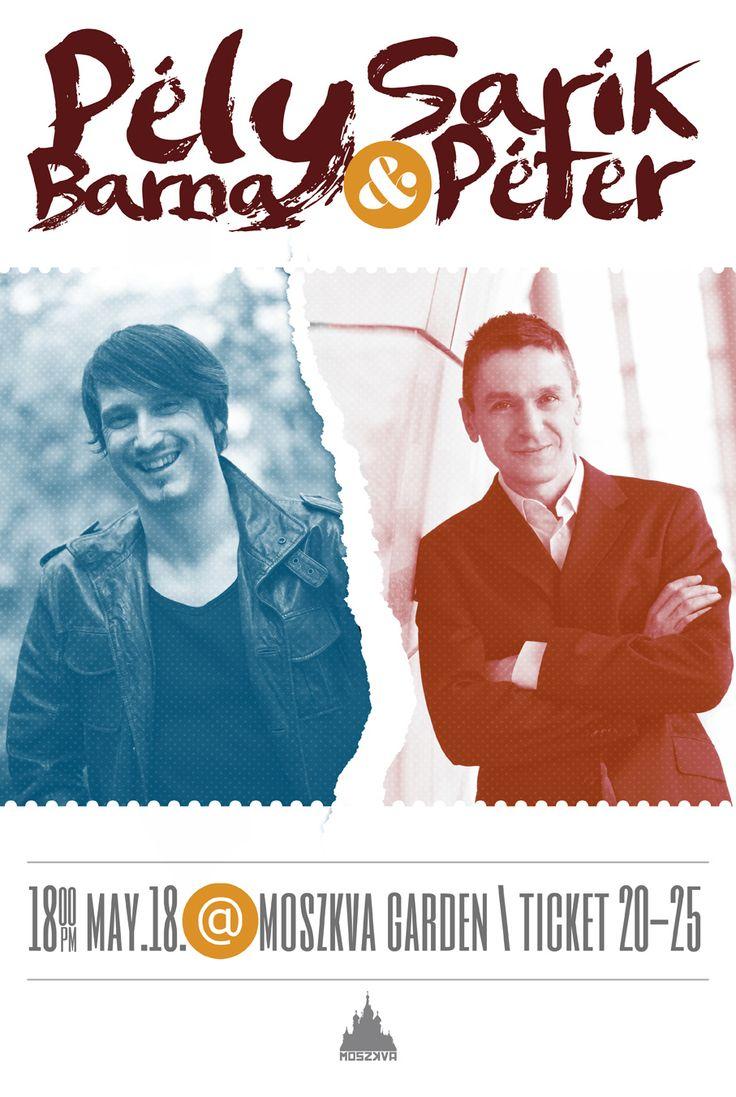 Photos from the Pély Barna and Sárik Péter concert @ Moszkva Garden with Moszkva Café #Oradea