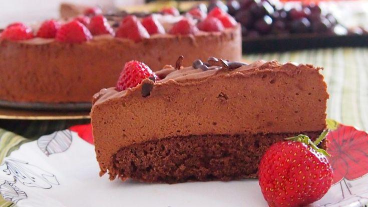 chocolate birthday cake / tort czekoladowy