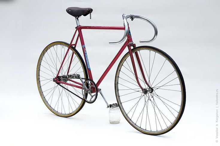 """Fixed Gear Gallery :: ussr mass-market HVZ """"Rekord"""" track bicycle"""
