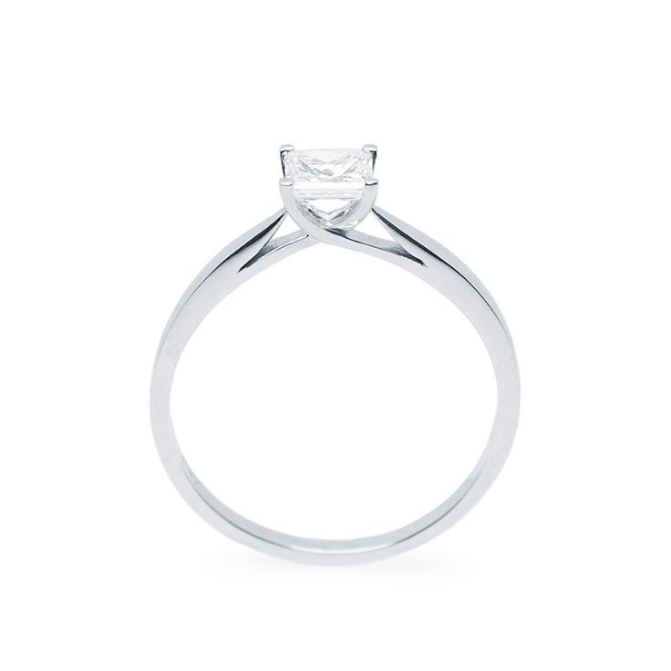 Princess gyémánt eljegzési gyűrű - Princess cut diamond engagement ring