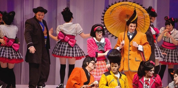 Review: Edmonton Opera's Mikado is visually stunning, modern-day spin on Gilbert and Sullivan comedy