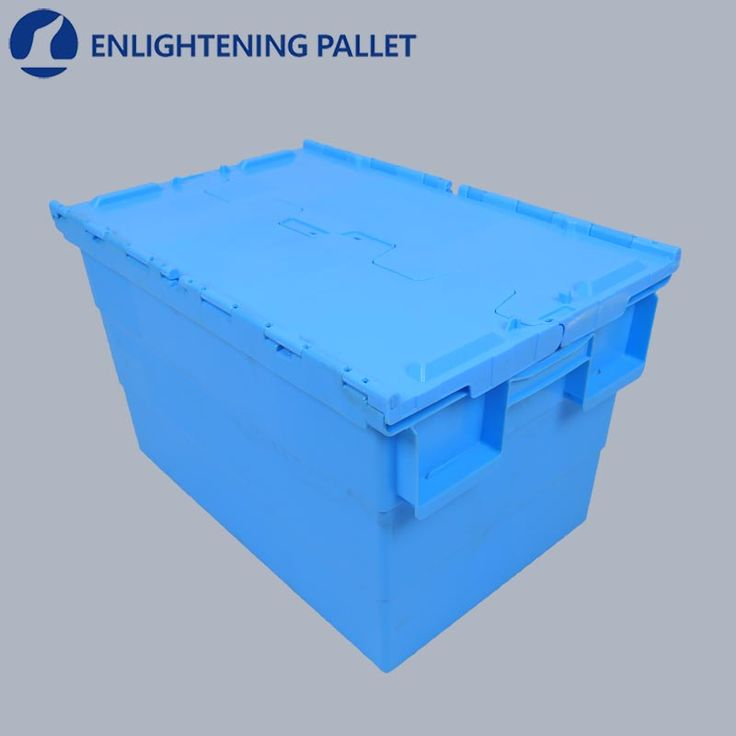 Cheap heavy duty large PP nestable stackable plastic moving boxes for sale