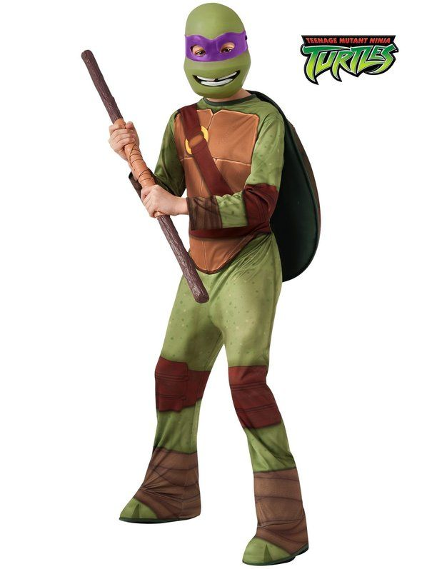 Check out TMNT Donatello Costume - Group Teenage Mutant Ninja Turtles Costumes from Costume Super Center