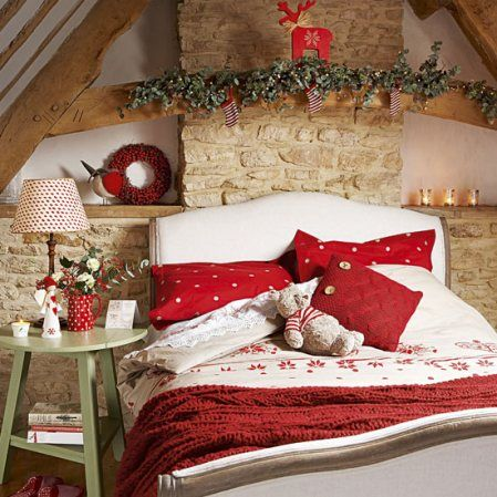 Christmas Bedrooms 49 best christmas bedrooms images on pinterest | christmas ideas
