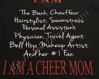 Without Cheerleaders It's Just A Game Cheer Tee by llsocia on Etsy