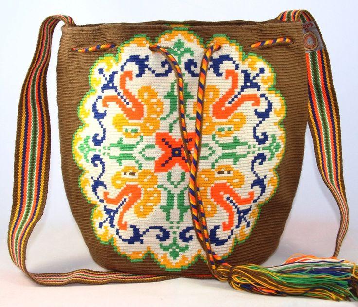 One of a Kind Nativo Style Large Peace Wayuu by NativoStyle