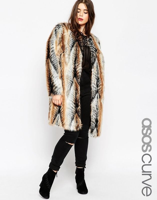 ad88dbbd126 17 Plus Size Faux Fur Coats You Need