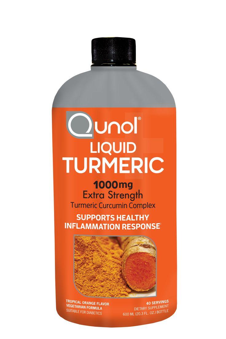 Qunol Liquid Turmeric, 1000mg, 40 Servings, 20.3 Ounces