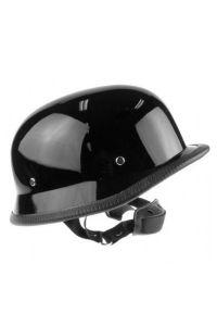 Helm im Militär Look - schwarz glänzend