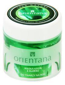 Orientana, maska-krem z aloesu do twarzy na noc, 100 g-Orientana