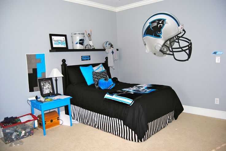 Carolina Panthers Bedroom