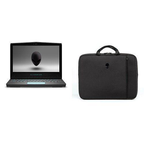 "Alienware AW13R3-7420 13.3"" Laptop Bundle with Vindicator 2.0 Sleeve"
