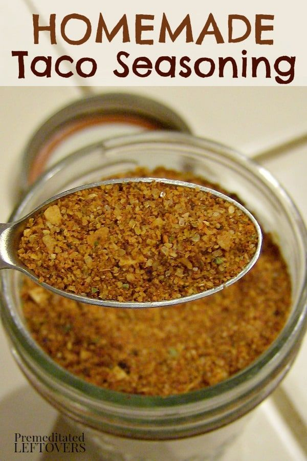Quick and easy taco seasoning mix recipe using spices from your pantry. Use this homemade taco spice mix in your dinner recipes.