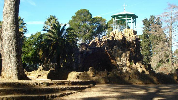 Park Sama Cataluna Spain architect Antoni Gaudi