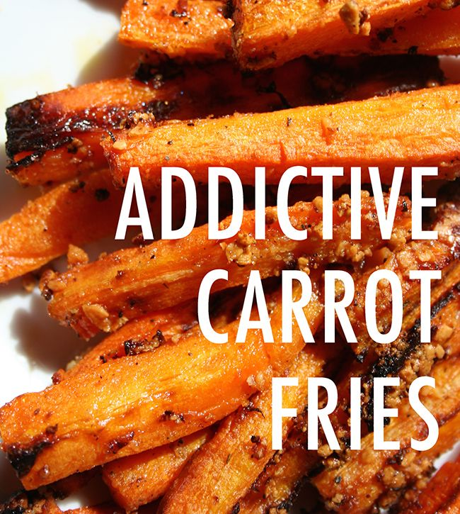 Better than French fries and full of Vitamin A, these baked carrot fries are a perfect side dish or snack! And they're simple to make with our recipe.