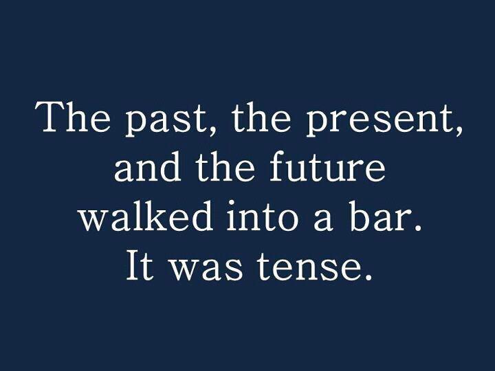 I love a good grammar joke.