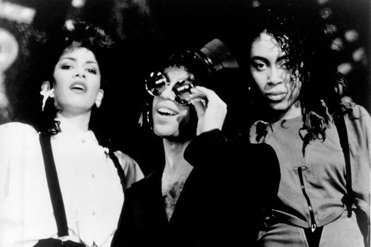 Le chanteur Prince en 1987.