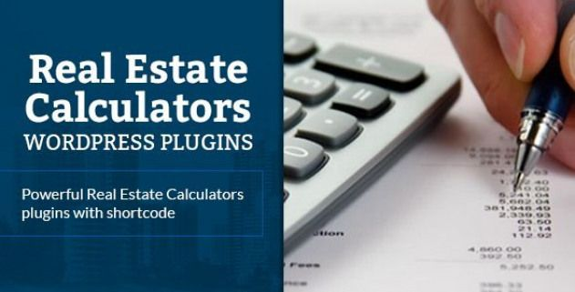 Real Estate Calculators Wordpress Plugin By Marfan Mortgage