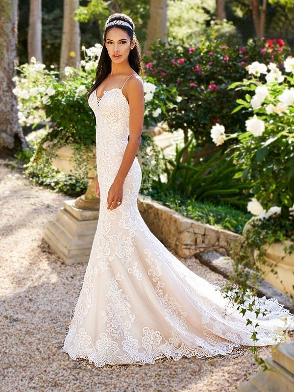 Pin On Mermaid Fit And Flare Wedding Dresses