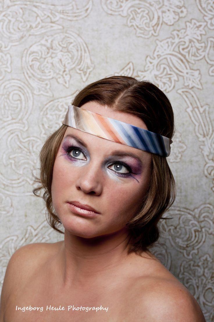 Make up jaren '70. © Ingeborg Heule Photography