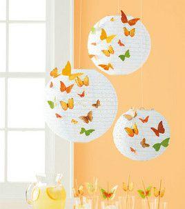 Eyelet Paper Lantern with Butterflies: For Teens: Kids & Teens Projects: Shop | Joann.com