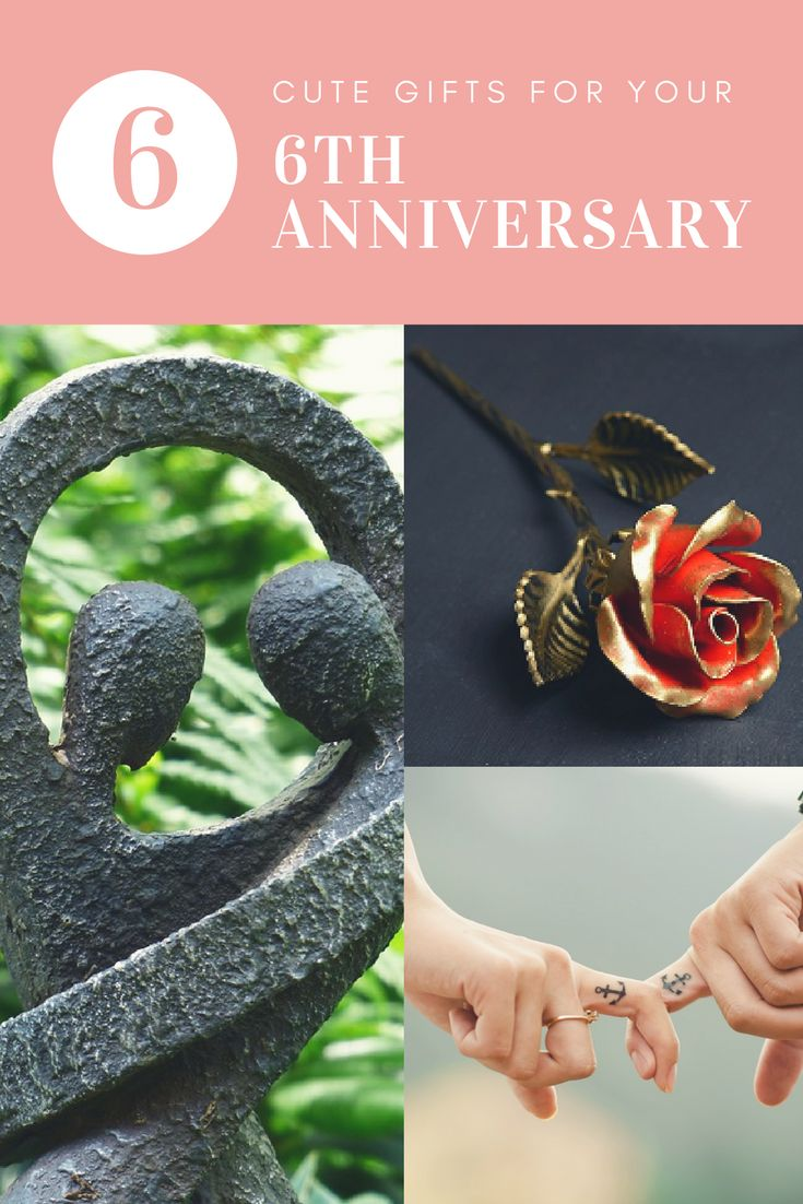 Great ideas for your sixth wedding anniversary - the bronze year