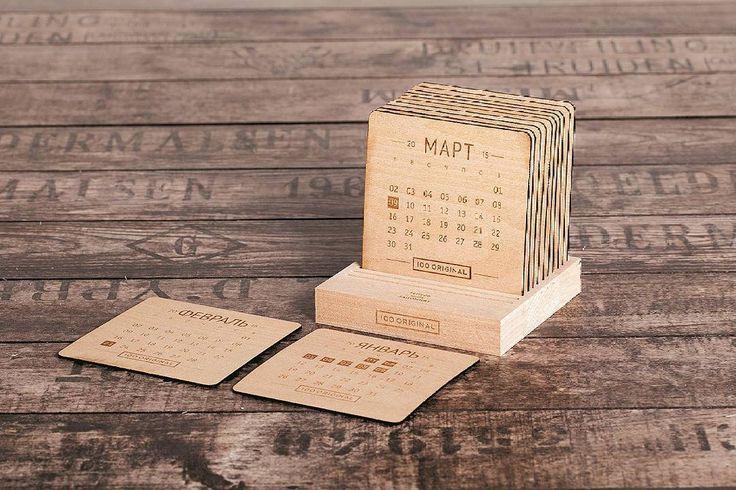 Шикарные календари из очень качественного дерева. Экологически чистые и имеют оригинальный вид!