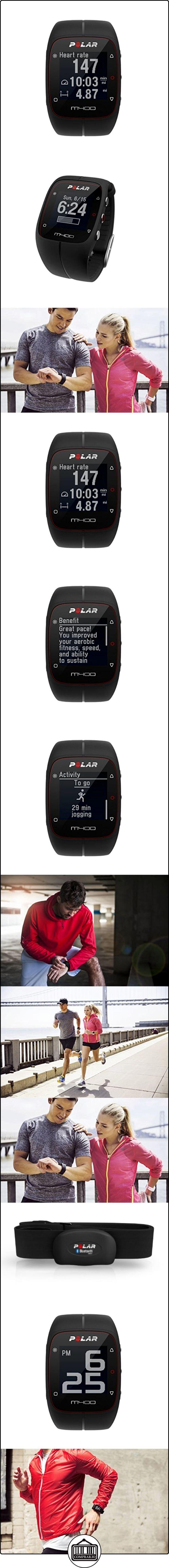 Polar M400 - Reloj de entrenamiento con GPS integrado y registro de actividad, color negro  ✿ Relojes para mujer - (Gama media/alta) ✿