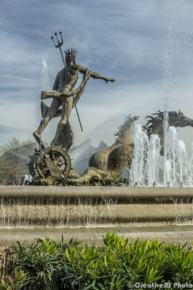 Fuente de Neptuno, Monterrey Mx