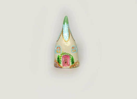 Little Clay House,  Ornaments  clay house  miniature houses  tiny home  small house ceramic house  Clay houses  little clay house  terrarium house  tiny house  cottage  fairy garden house  handpainted clay houses, ceramic houses, miniature house, tiny house, clay house,handmade ceramic house, pottery house, housewarming, small building